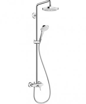 Hansgrohe Croma Select E 180 2jet Showerpipe 27258400 27258400