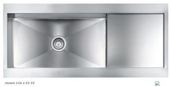 CM-Spa REVERS 116 X 52 1V slim sink series 12989