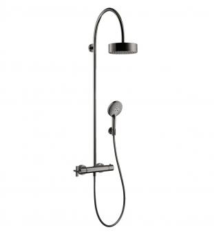 Axor Showerpipe with thermostat and overhead shower 180 1jet 39670340